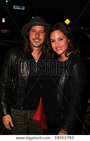Cisco Adler and wife Barbara at the