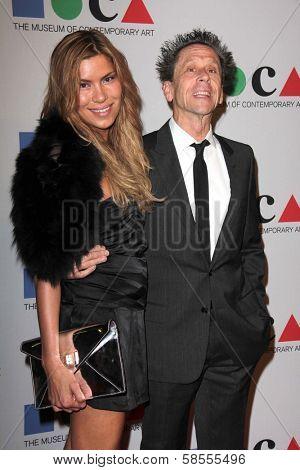Brian Grazer and guest at the MOCA Gala, MOCA Grand Avenue, Los Angeles, CA 04-20-13