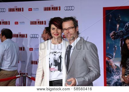 Guy Pearce and guest at the