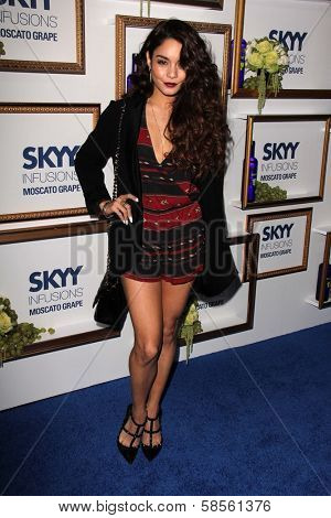 Vanessa Hudgens at the House Of Moscato Presented by Skyy Infusions Moscato Grape, Greystone Manor, Los Angeles, CA 04-24-13