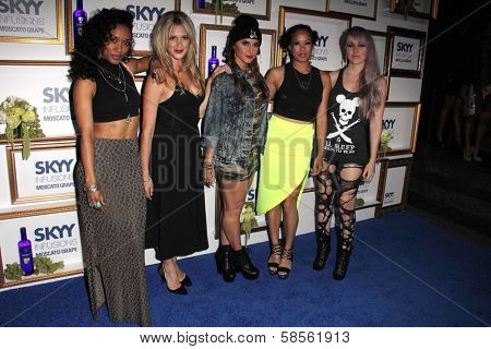 YLA at the House Of Moscato Presented by Skyy Infusions Moscato Grape, Greystone Manor, Los Angeles, CA 04-24-13
