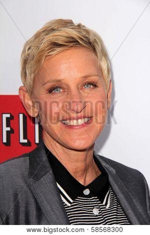 Ellen Degeneres at the