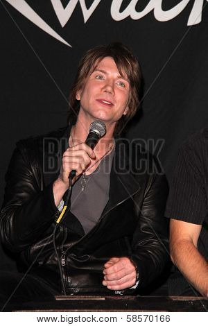 John Rzeznik at the Goo Goo Dolls RockWalk Induction, Guitar Center, Hollywood, CA 05-07-13