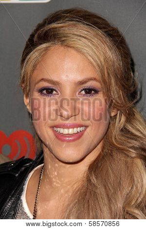 Shakira at The Voice Season 4 Red Carpet, House Of Blues, West Hollywood, CA 05-08-13