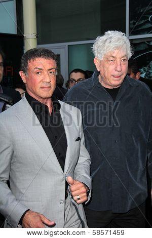 Sylvester Stallone, Avi Lerner at