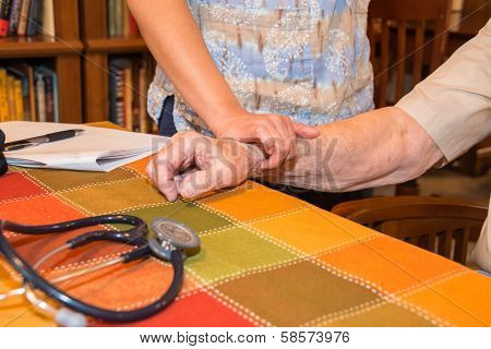 Home Healthcare Nurse Patient Vital Signs
