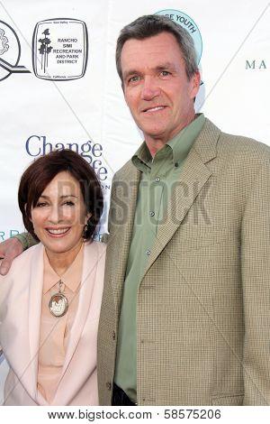 Patricia Heaton, Neil Flynn at the Compton Jr, Posse Gala honoring Patricia Heaton and Portia de Rossi, Burbank Equestrian Center, Burbank, CA 05-18-13