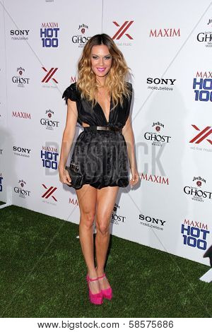 Jasmine Dustin at the 2013 Maxim Hot 100 Party, Vanguard, Hollywood, CA 05-15-13