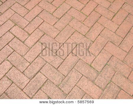 Red Brick Walkway