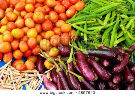 indische Gemüse