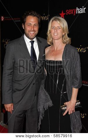 Rory Kennedy and Mark Bailey at the 2013 Gracie Awards Gala, Beverly Hilton Hotel, Beverly Hills, CA 05-21-13