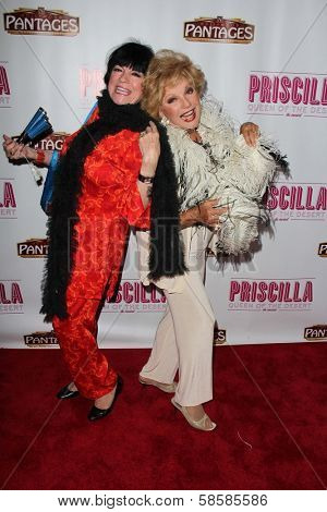 Jo Anne Worley and Ruta Lee at the