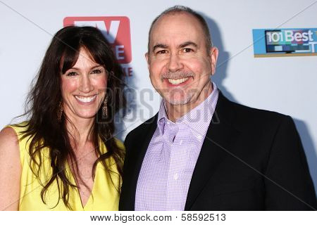 Rachel Winter and Terence Winter at the WGA's 101 Best Written Series Announcement, Writers Guild of America Theater, Beverly Hills, CA 06-02-13