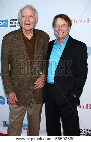 Robert Mandan and Jay Johnson at the WGA's 101 Best Written Series Announcement, Writers Guild of America Theater, Beverly Hills, CA 06-02-13