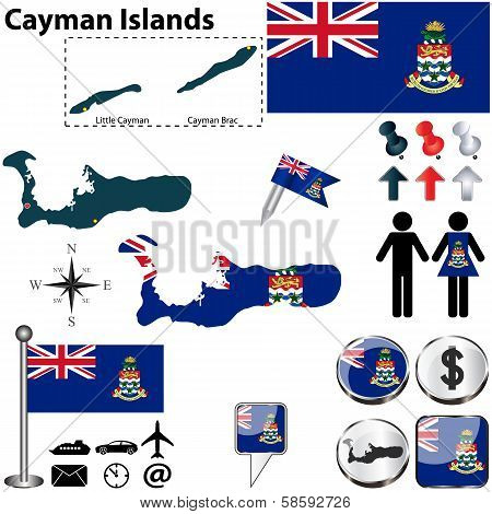 Map Of Cayman Islands