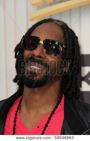 Snoop Dogg at the 2013 Spike TV Guys Choice Awards, Sony Studios, Culver City, CA 06-08-13