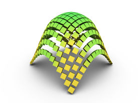 3D Elliptic Paraboloid Graph