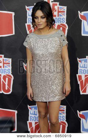 Mila Kunis on the red carpet