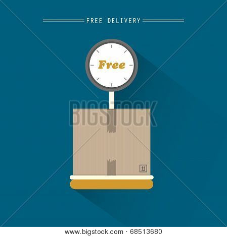 Free delivery weigher