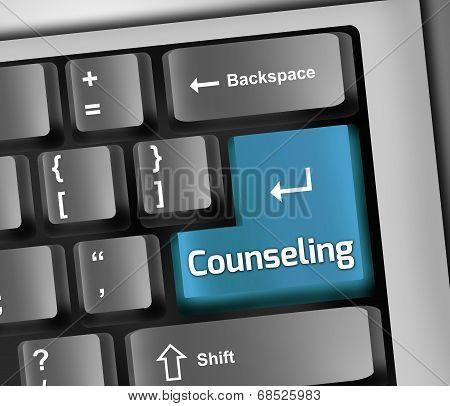 Keyboard Illustration Counseling