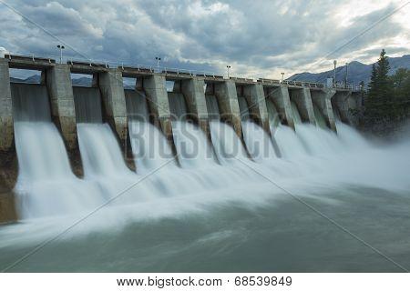 Kananaskis Hydro Electric Dam W7