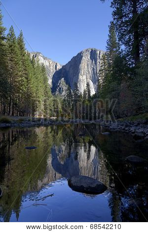 Yosemite Valley Fall Reflection