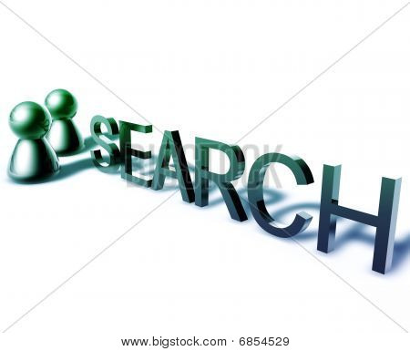 Search Word Graphic