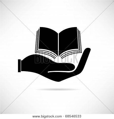 hand holding treatise