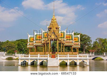 Bang-pa-in Royal palace -Thai Temple
