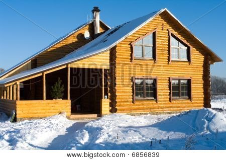 The Snow-covered House.