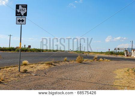 Orla Texas in far West Texas