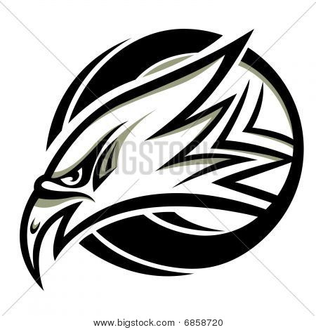 Eagle Kopf Vektor