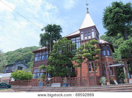Historical Kitano district Kobe Japan