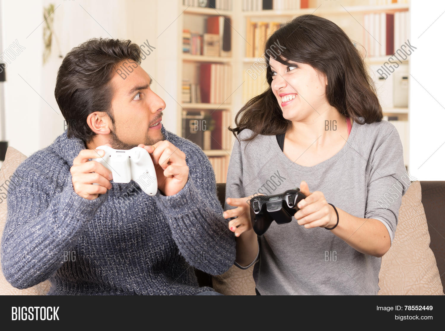 Young Cute Couple Image Photo Free Trial Bigstock