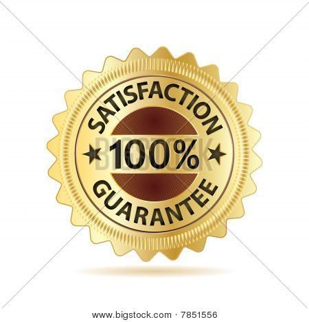 Vector Business Guarantee Badge
