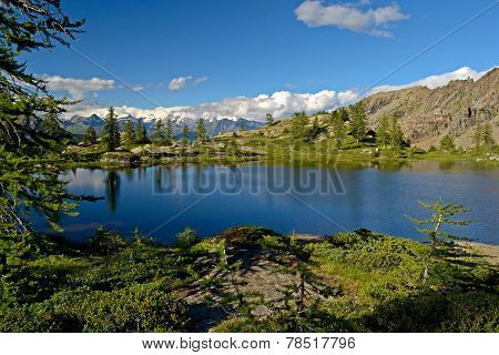 High Altitude Alpine Lake
