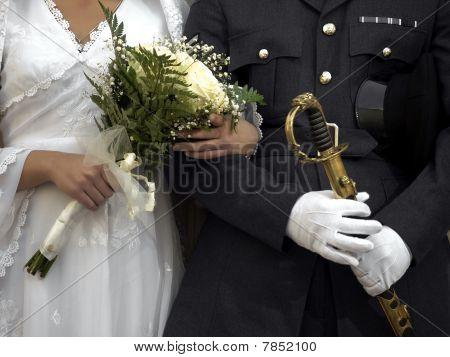 Officer & Bride