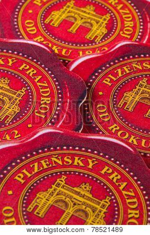 Beermats From Pilsner Beer