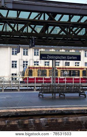 Berlin Zoo train station