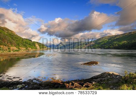 Lake In Kyle Of Lochalsh