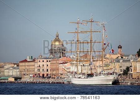 Cuauhtemoc  Mexican three-masted barque