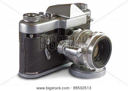 Soviet 35 mm. Film SLR Photo Camera