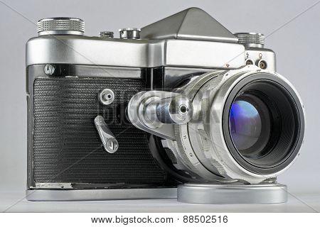 Soviet 35Mm Film Slr Photo Camera