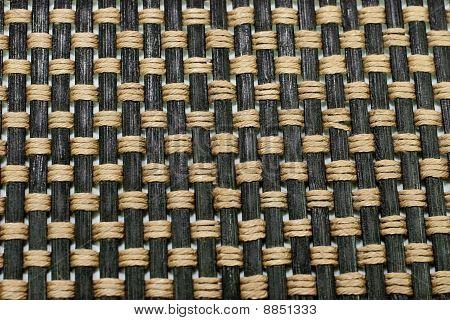 Traditional Bamboo Matt Close-up Background