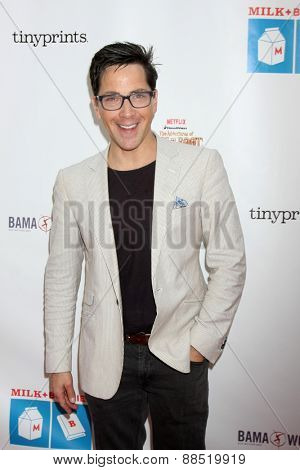 LOS ANGELES - FEB 19:  Dan Bucatinsky at the Milk+Bookies Sixth Annual Story Time Celebration at the Toyota Grand Prix Racecourse on April 19, 2015 in Long Beach, CA