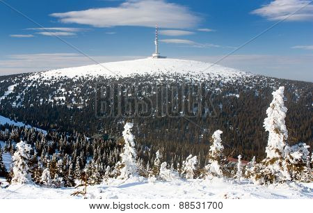 View Of Mount Praded - Jesenik - Czech Republic