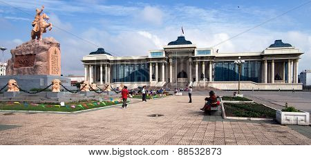 Ulaanbaatar The Capital City Of Mongolia