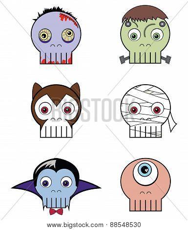Monster Skulls