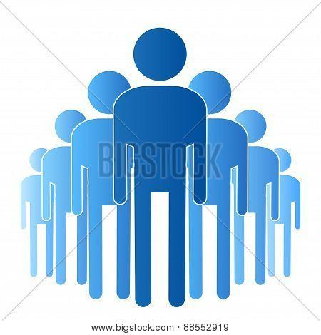 stick figure human group