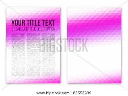 Violet booklet